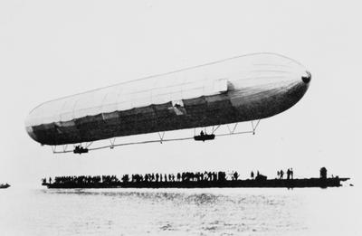 First Zeppelin Flight