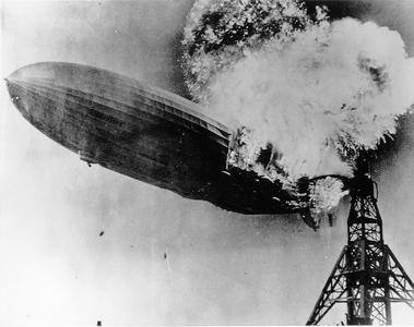 Hindenburg crash